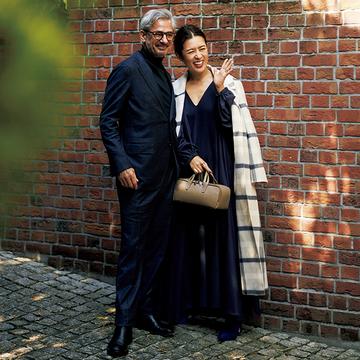 大草直子さんの【夫と過ごす日のコーディネート④】父母としてのお出かけシーン