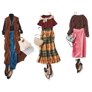 アラフォー女性を何倍も素敵に魅せる「ブラウンコーデ」着こなし集