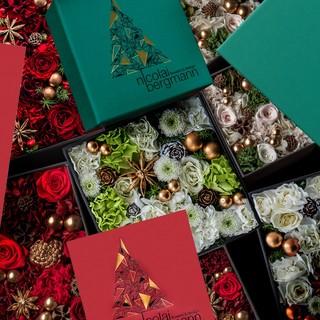 ニコライ バーグマンよりクリスマス限定フラワーボックスアレンジメントを発売