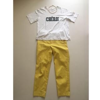 今年の春夏は黄色パンツに挑戦。_1_4