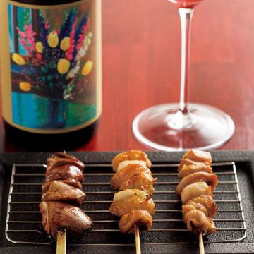 3.自家菜園の野菜で作る料理と 今注目の日本ワインも充実 炭とワイン イル・フェ・ソワフ