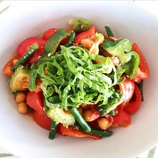 夏野菜たっぷり!カラフルな塩麹ラタトゥユ