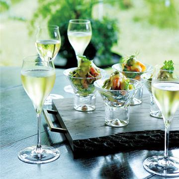 シャンパンとの相性絶妙「マグロとサーモンのタルタル」レシピ【有元葉子さんのシャンパーニュとこの一皿】