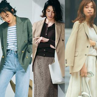 なりたい印象別・春の最旬ジャケットコーデのまとめ【40代トレンドファッション】