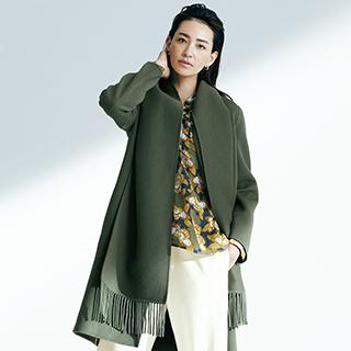 新しい冬。「マレーラ」のリッチなコートを一着