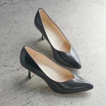 上質なはき心地の感動パンプス&フラット靴