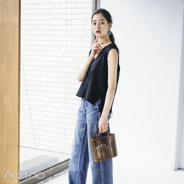 新木優子が夏私服を披露♡ ブランドの展示会ではこのコーデ!