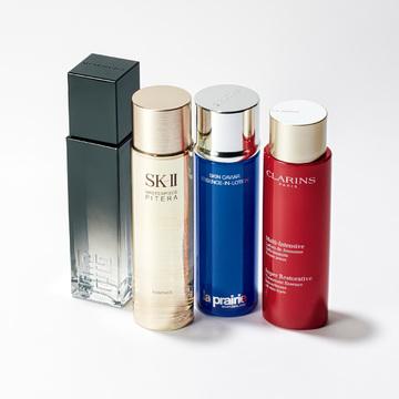 1. 新作の化粧水が美容液級の 引き上げ効果と評判