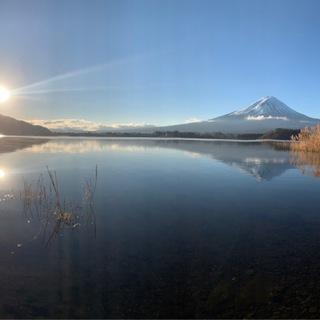 謹賀新年。 スタートは富士山とともに。