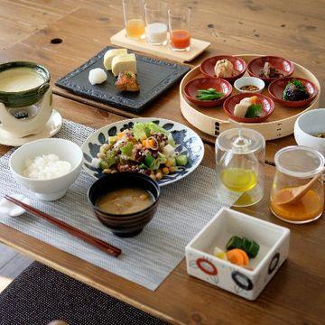 朝食が美味しい宿①旅疲れを癒す、体にやさしい朝ごはん