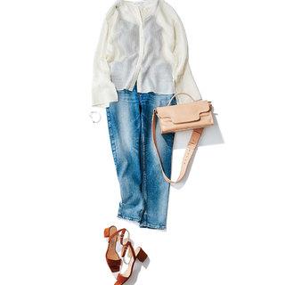 さわやかで涼しげにデニムを着こなす!夏の上品デニムコーデ12選