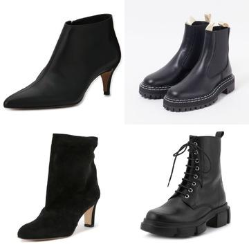 シルエットも履き心地も大満足「50代の黒ブーツ」