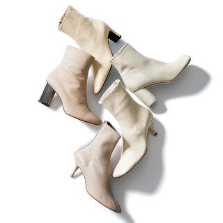 """今年らしい""""抜け感""""が手に入る「ニュアンスカラーのショートブーツ」【明日から秋本番まで履ける靴】"""