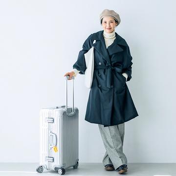 動きやすくて、冷え知らず。 モデル・浜島直子さんの冬旅じたく 五選