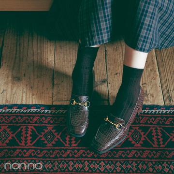 新木優子×新しいこと始まる秋服。「秋靴の本命デザインはコレ♡」