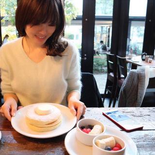 代官山IVY PLACE でパンケーキ日和な女子会
