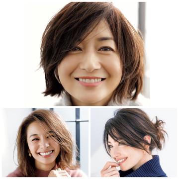 【50代憧れヘアスタイル・髪型】エクラモデルズ 富岡佳子さん RINAさん 稲沢朋子さん のこだわりヘアスタイル徹底解説!