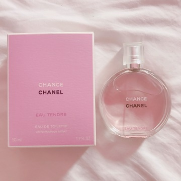 香水はCHANELの CHANCE -Eau Tendre-がおすすめ♡