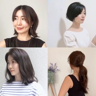 ショート・ボブ・ミディアム・ロング… 美女組のリアルな夏ヘアスタイルまとめ|美女組Pick up!