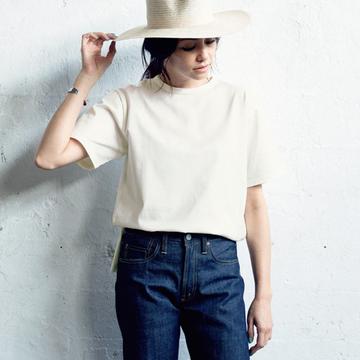 【夏Tシャツの選び方&着こなし方】 SINME×eclatのベーシックTシャツ