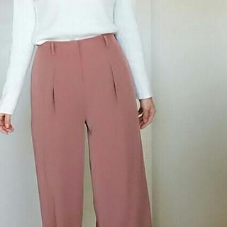 ゆるっときれい色パンツ