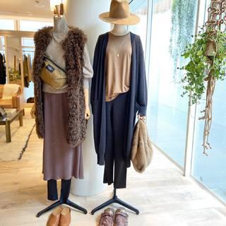 秋冬ファッションが楽しみ♪上質素材&おしゃれ感たっぷりなリラックススタイル