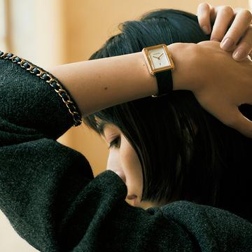 ぶれない強さを持つ女性にふさわしい「シャネル」の時計【10の人生、10の時計】