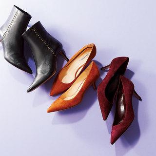 秋のはじまりは靴からスタート!新作シューズをチェック