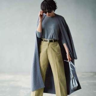 羽織ってよし、重ねてよし。「グレー」ロングカーディガンを冬コーデに投入