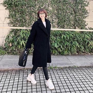 【エクラ華組】どこかに黒、でも重くなりすぎない!軽やか冬コーデ 五選