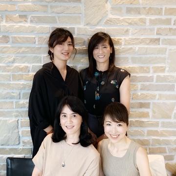 華組の先輩方との六本木ランチ会