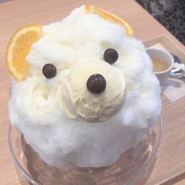 旨♥カワ【表参道】クマのかき氷♪