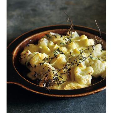 <冬こそチーズでおもてなし>カリフラワーとウォッシュのオーブン焼きのレシピ