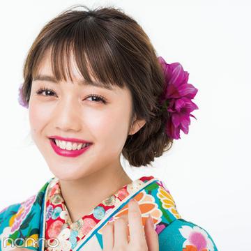 成人式&前撮りの髪型に生花をつけたい! センスよし♡ のお手本5選