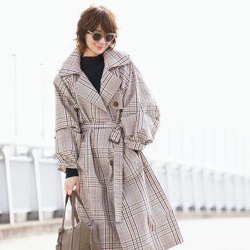 富岡佳子が着る大人の魅力の「ロング&ベルテッド」 五選