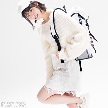 優子と七瀬がお手本♡ 女子が永遠好きな配色★白っぽワントーン2018春の4選