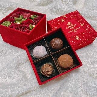 【クリスマス限定BOX】ゴディバ × ニコライ バーグマン