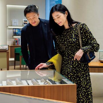 日本最大級。銀座並木通りの「ロレックス」【パートナーと正統派の時計店へ③】