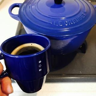 青と一緒に楽しむコーヒータイム☕️『coffee&blue』