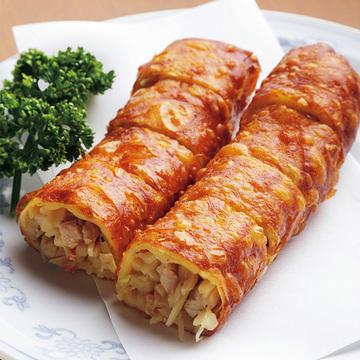 サクサクな食感がたまらない! ぎをん森幸の「春巻」【京都、あの店のあの一品】