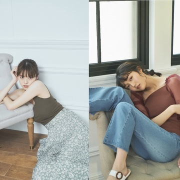 鈴木ゆうか&松川菜々花がお洋服をプロデュース♡ 春夏コレクションの先行予約がスタート