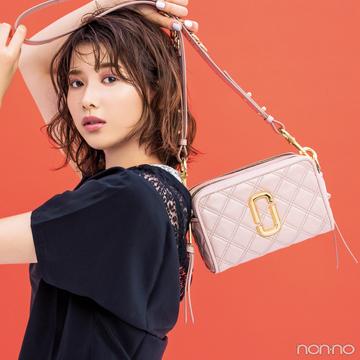 渡邉理佐とマークジェイコブス♡ 最新バッグ「ソフトショット」に注目! 【20歳からの名品】