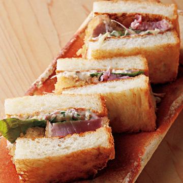 【京都の最新美味】名店で腕を磨いた店主たちが手がけるトーストサンド&天むす