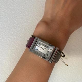 フランス発の着せ替え時計でブラウンコーデ☆_1_3