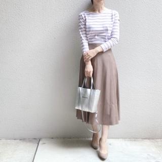 人気のエコレザースカート!私が買ったのはコレです