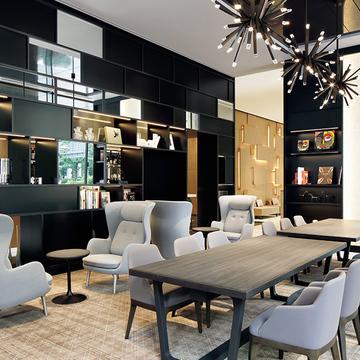 洗練された空間が魅力のライフスタイルホテル『ACホテル・バイ・マリオット東京銀座』