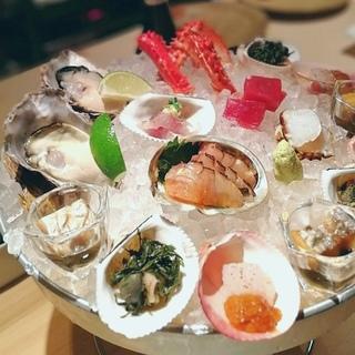 海の宝石箱や〜!「食幹龍土町」で猛暑の日々に目からも涼を