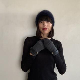 冬の手元をエレガントに防寒するエルメスのカシミヤ手袋_1_3-1