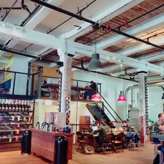 ブルックリン地区のコーヒー屋さん