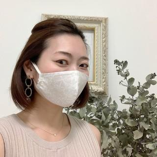 マスクで楽しむトータルコーデ♪